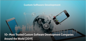 most trusted software development providers 2019