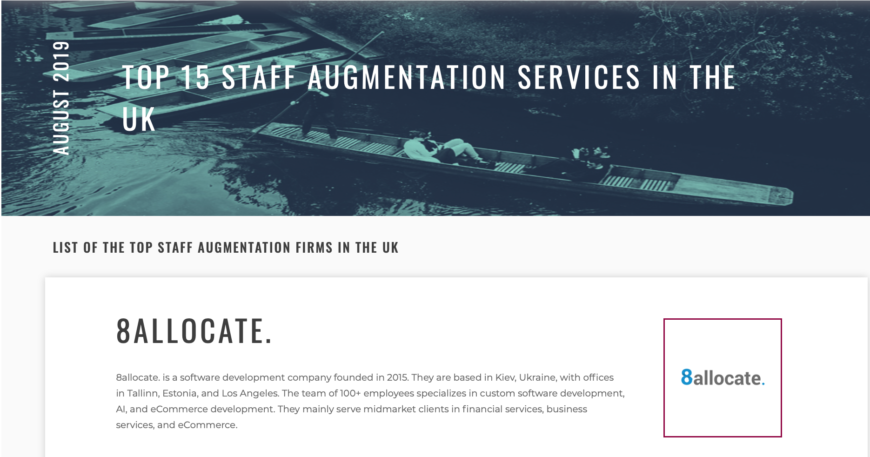 hire staff augmentation provider in the UK